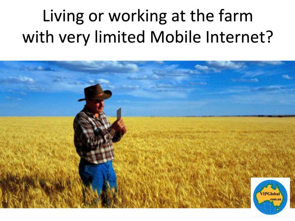 Living or working in rural Australia?